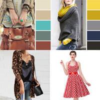Основные правила при комбинировании цветной одежды.